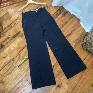 MaxMara Pants & Jumpsuits - Max Mara Studio Navy High Rise Wide Leg Trousers